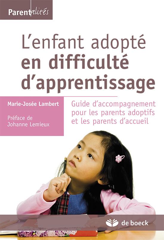 L Enfant Adopte En Difficulte D Apprentissage