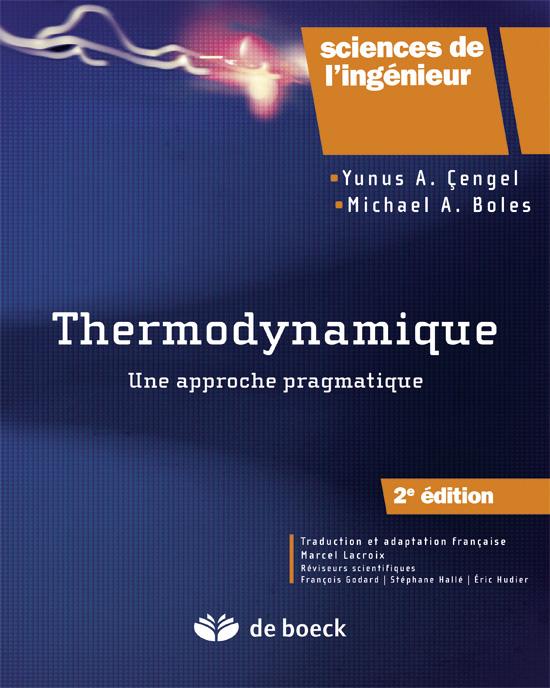 thermodynamique de lingenieur