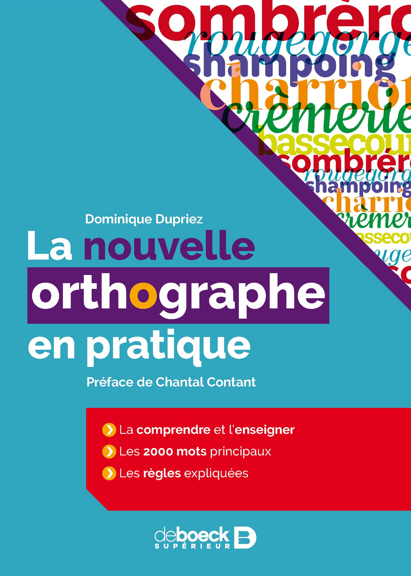 """Résultat de recherche d'images pour """"""""La nouvelle orthographe en pratique"""""""""""