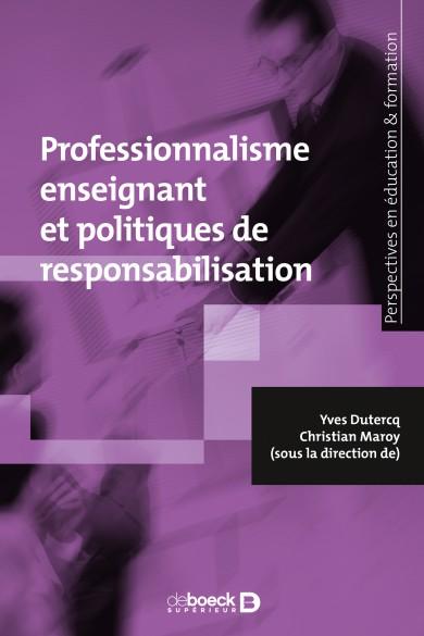 """Résultat de recherche d'images pour """"Professionnalisme enseignant et politiques de responsabilisation"""""""
